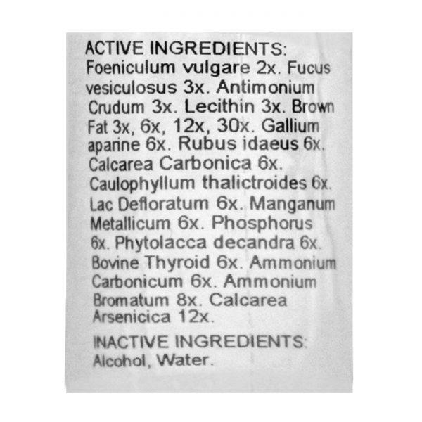 Mediral Weight Off Ingredients